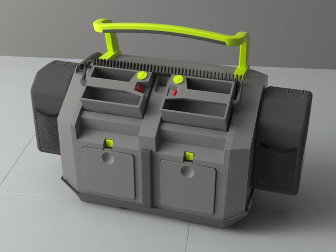 Defibrylator - Jan Buczek - Noodi Design