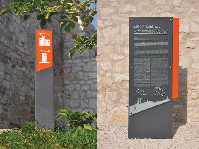 Wayfinding Kazimierz - Jan Buczek - Noodi Design